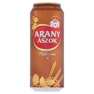 Arany Ászok Quality Half-Brown Beer 5,1% 0,5 l