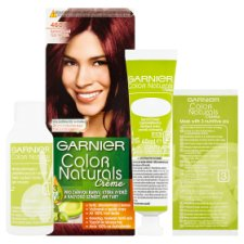 image 2 of Garnier Color Naturals Crème 460 Fire Deep Red Nourishing Permanent Hair Colorant