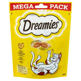 Dreamies Complementary Pet Food for Adult and Junior Cats with Cheese 180 g