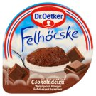 Dr. Oetker Felhőcske Chocolate Flavoured Pudding with Whipped Cream 125 g