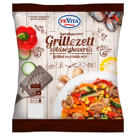 FeVita gyorsfagyasztott grillezett zöldségkeverék 450 g