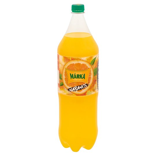 Márka Orange Carbonated Soft Drink with Sugar and Sweeteners 2 l