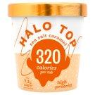 Halo Top Sea Salt Caramel Ice Cream with Sugar and Sweeteners 473 ml