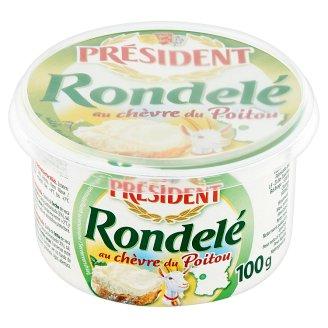 Président Rondelé au Chèvre du Poitou Fat Soft Cheese 100 g