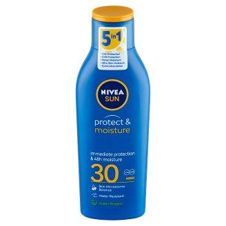 NIVEA SUN Protect & Moisture hidratáló naptej FF30 200 ml