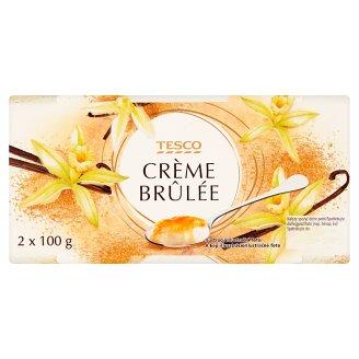 Tesco Crème Brûlée with Brown Sugar 2 x 100 g