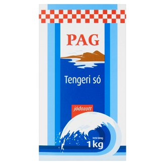 Pag jódozott tengeri só 1 kg