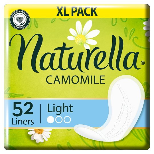 Naturella Panty Liners Normal Camomile 52 Liners
