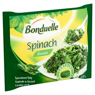 Bonduelle Quick-Frozen Spinach Leaves 400 g