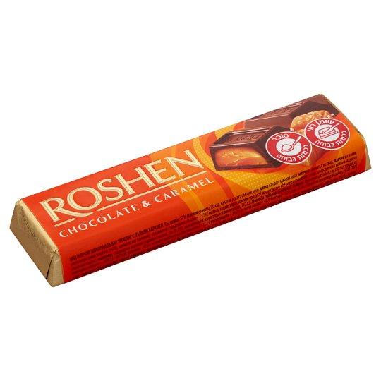 Roshen Milk Chocolate Bar with Caramel Filling 40 g