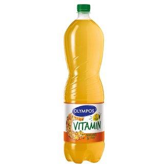 Olympos C vitamin narancs-citrom ital cukorral és édesítőszerekkel 1,5 l
