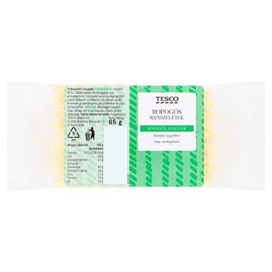 Tesco Crunchy Puffed Rice Slices 65 g