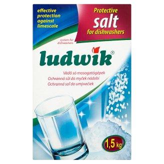 Ludwik védő só mosogatógépekhez 1,5 kg