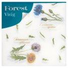Forest Virág mintás szalvéta 1 rétegű 33 x 33 cm 60 db