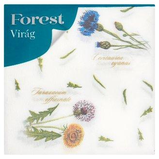 Forest Virág Patterned Napkins 1 Ply 33 x 33 cm 60 pcs