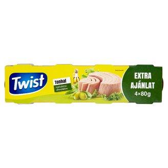 Twist Tuna in Olive Oil 4 x 80 g