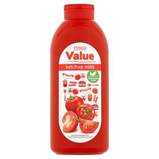 Tesco Value ketchup 1 kg