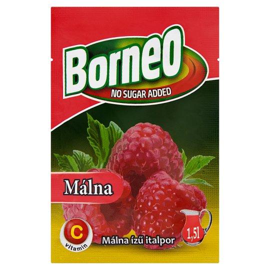 Borneo Raspberry Flavoured Drink Powder with No Added Sugar with Sweetener 9 g