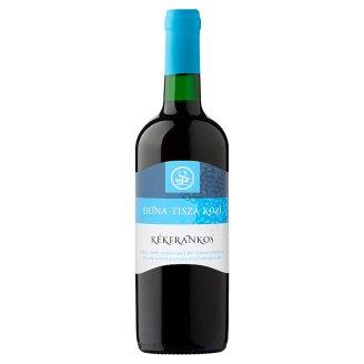 Duna-Tisza közi Kékfrankos száraz vörösbor 11% 750 ml