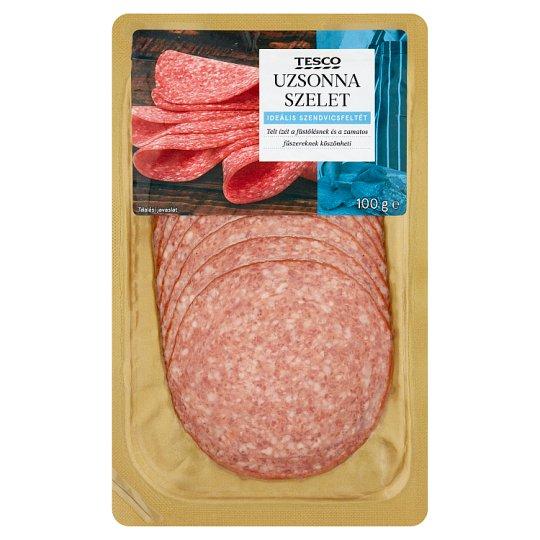 Tesco Sausage Slices 100 g