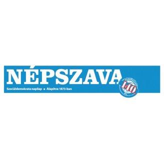 Népszava Csütörtök politikai, társadalmi kérdésekkel foglalkozó napilap
