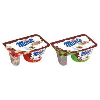 Zott Monte Choko Flakes vagy Waffle Sticks csokoládés-mogyorós desszertkrém 125 g
