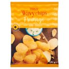 Tesco Fromage Wavy Chips 130 g