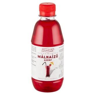 Ezerédes diétás málna-alma gyümölcsszörp édesítőszerrel 330 ml