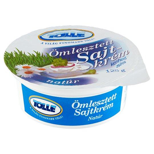 Tolle natúr kenhető zsíros ömlesztett sajtkrém 125 g