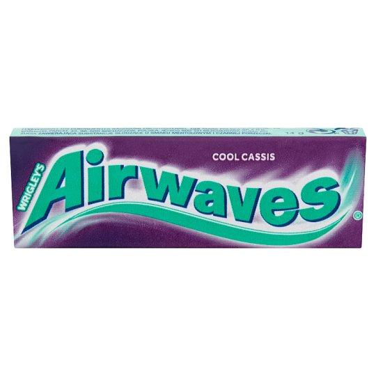 Airwaves Cassis drazsé cukormentes rágógumi 14 g