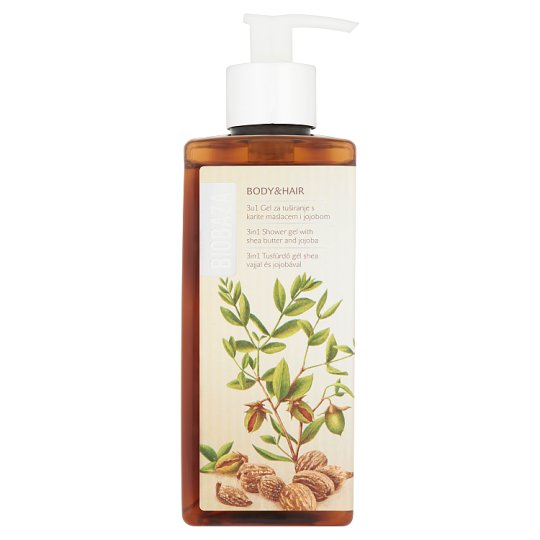Biobaza 3 in 1 Shower Gel with Shea Butter and Jojoba 400 ml