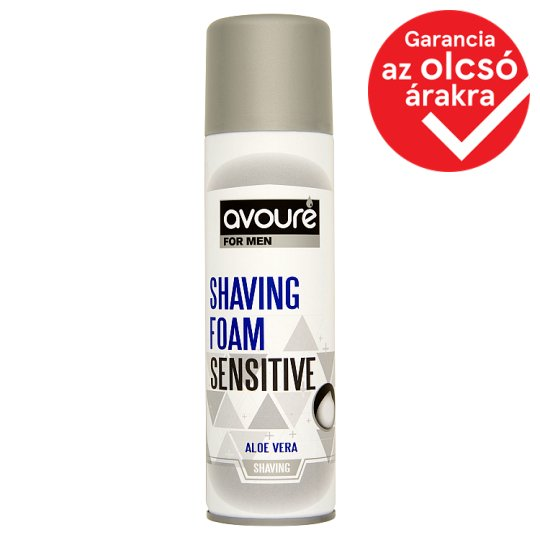 Avouré For Men Sensitive Shaving Foam 250 ml