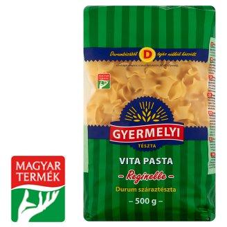 Gyermelyi Vita Pasta Frilly Squares Dried Pasta Made from Durum Wheat Semolina 500 g