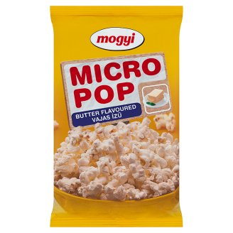 Mogyi Micro Pop Butter Flavoured Microwave Popcorn 100 g