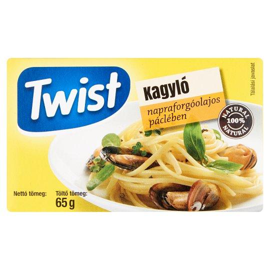 Twist kagyló napraforgóolajos páclében 111 g