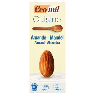 EcoMil Cuisine Organic Culinary Preparation Made with Almond 200 ml