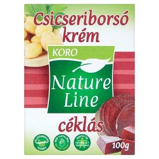 Koro Nature Line gluténmentes céklás csicseriborsó krém 100 g