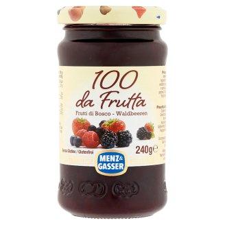 Menz & Gasser Special Quality Forest Fruit Jam in Jar 240 g