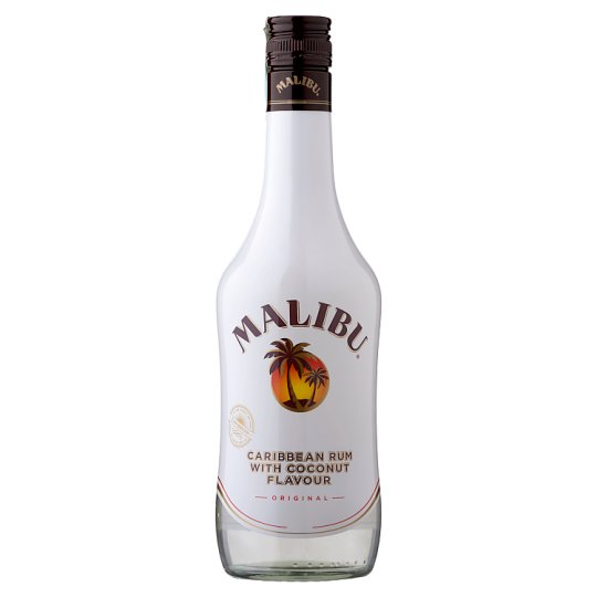 Malibu Caribbean Rum with Coconut Flavour 21% 0,5 l