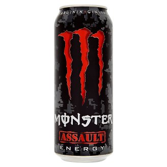 Monster Energy Assault Carbonated Drink 500 ml