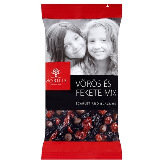 Nobilis Scarlet and Black Dried Fruit and Dark Chocolate Mix 100 g