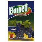 Borneo szőlő ízű italpor hozzáadott cukor nélkül, édesítőszerrel 9 g