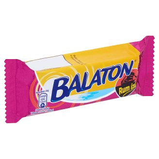 Balaton Wafer Filled with Rum Flavoured Cream Coated in Cocoa Dollop 30 g