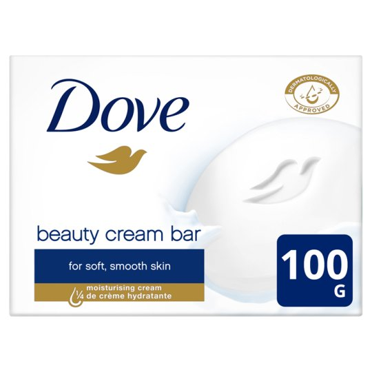 Dove Beauty Cream Bar Cream Soap 4 x 100 g
