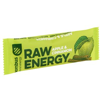 bombus Raw Energy Apple & Cinnamon Fruit Bar 50 g