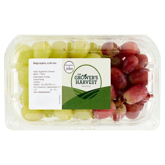 The Grower's Harvest Seedless Grapes Mix 500 g