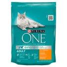 Purina One Adult Cat csirkében és teljes kiőrlésű gabonákban gazdag száraz macskaeledel 200 g