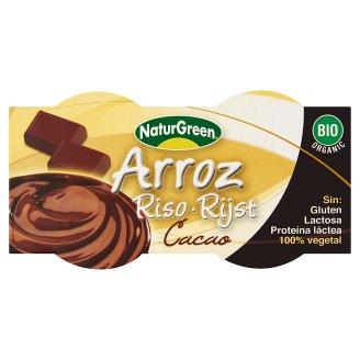 Natur Green BIO rizs desszert csokoládéval 2 x 125 g