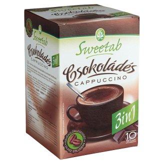 Sweetab Light 3in1 diétás csokoládés cappuccino 10 db 100 g
