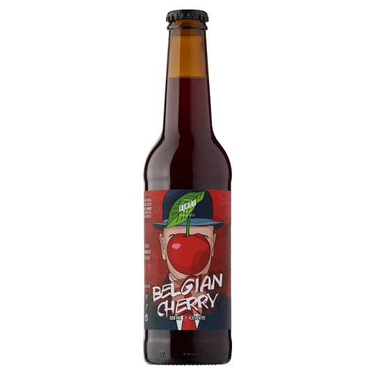 First Belgian Cherry 4,5% 0,33 l